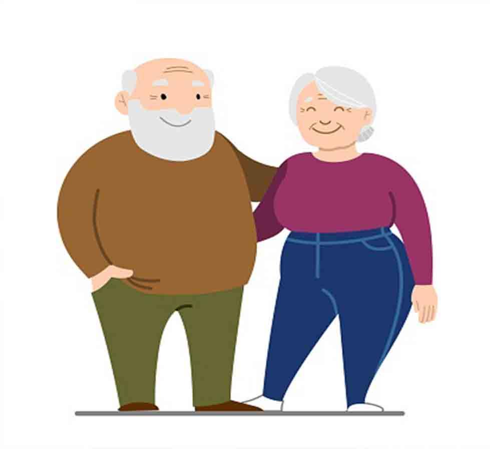 چاقی با افزایش سن